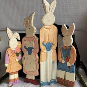 Easter Bunny Family Decor
